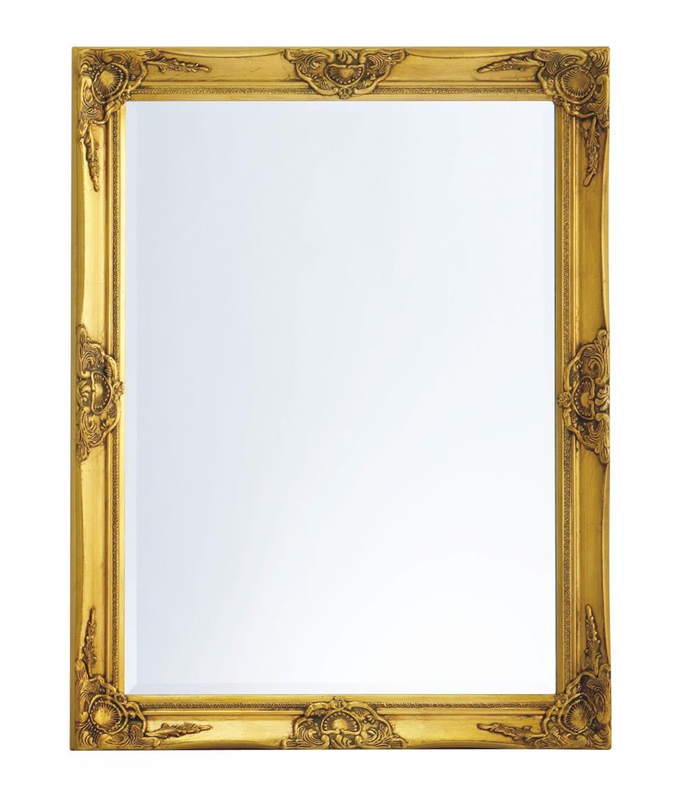guld spejl Facetslebet Guldspejl 70x90cm   Størst i Guldspejle guld spejl