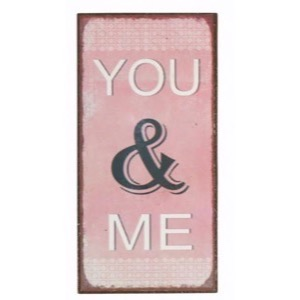 Magnet 5x10cm You And Me