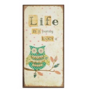 Magnet 5x10cm Life Is A Journey