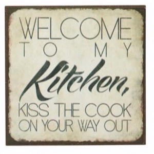 Magnet 7x7cm Welcome To My Kitchen
