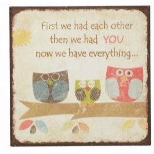 Magnet 7x7cm First We Had Each Other