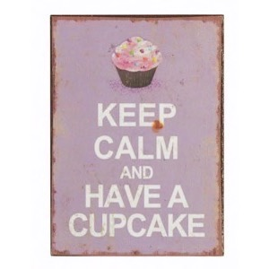 Magnet 5x7cm Keep Calm And Have A Cupcake
