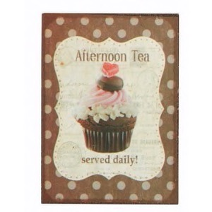 Magnet 5x7cm Afternoon Tea Served Daily