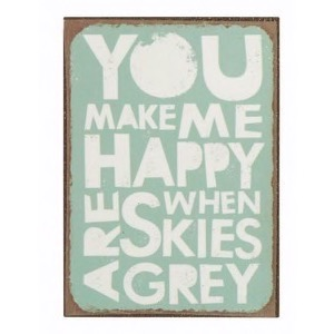 Magnet 5x7cm You Make Me Happy