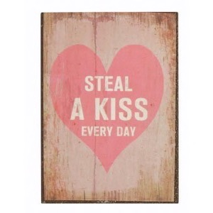 Magnet 5x7cm Steal A Kiss Every Day