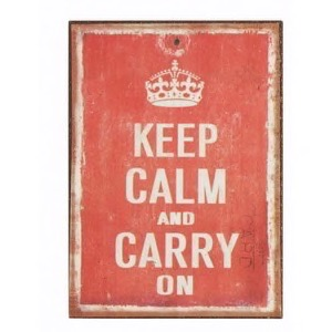 Magnet 5x7cm Keep Calm And Carry On