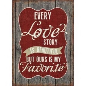 Magnet 5x7cm Every Love Story Is Beautiful