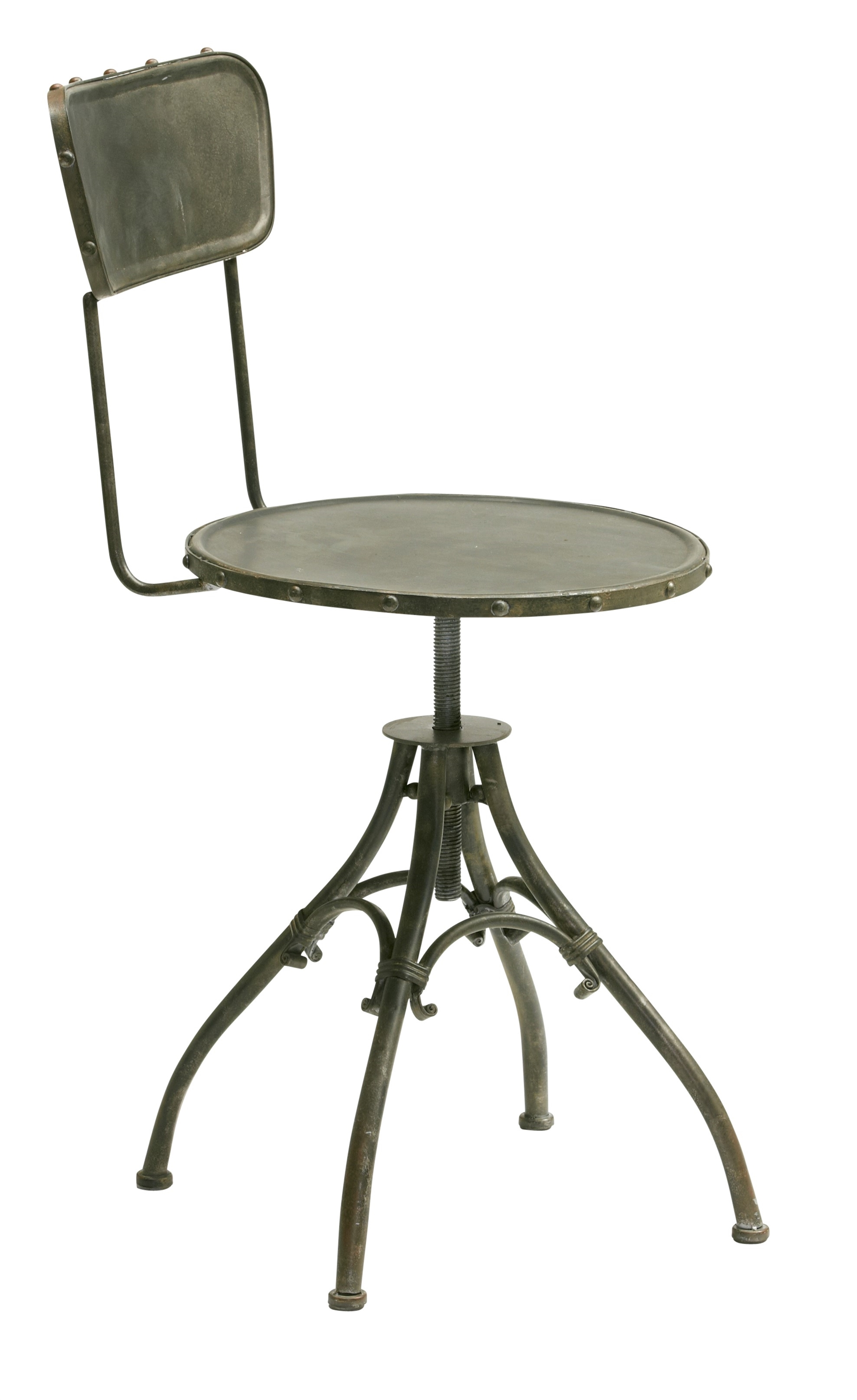 metal stol Metal dreje stol 41x78x46cm   Metal møbler   Metal stole metal stol
